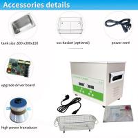 China Dual Frequency 40/80Khz Medical Ultrasonic Cleaner For Hospital Cleaning on sale