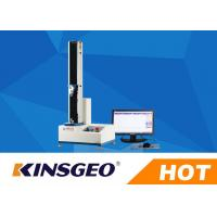 China 0.5-500mm/min Speed Peel Adhesion Test Equipment With Metal / Rubber Material wholesale