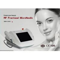 China Portable RF Micro Needle Machine Foot Switch For Face Lifting Skin Tightening wholesale