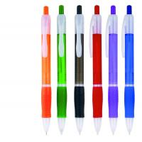 Buy cheap soft grip rubber plastic ballpoint pen for gift use,logo printed rubber grip from wholesalers