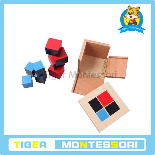 Materials wooden toys educational toys for kids binomial cube