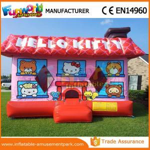 China Château sautant commercial de partie de PVC Hello Kitty/Chambre gonflable pour l'école wholesale