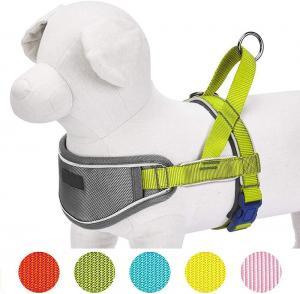 China 6 Sizes Option Nylon Dog Harness , Durable Neoprene Padded Dog Harness wholesale