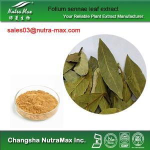 China Folium sennae leaf extract on sale