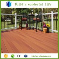China HEYA wpc wood sheet cheap fence board composite material suppliers on sale