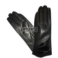 China 2015 new style and fasion good quality ladies sheep leather gloves YYLL073 wholesale