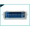 China Conector branco do único modo do LC do painel de remendo 24 da fibra ótica da montagem em rack 1U carregado wholesale