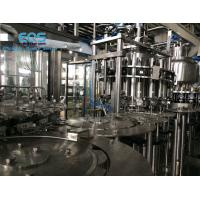 Buy cheap ISO Certificated Pulp Juice Filling Machine ,SUS304 Hot Filling Machine 6000BPH from wholesalers