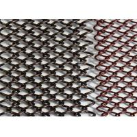 China Bronze Color Decorative Wire Mesh , Decorative Metal Curtains Long Use Life wholesale