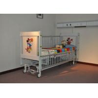 China Automatic Pediatric Hospital Beds With Telescopic Aluminum Alloy Side Rails wholesale