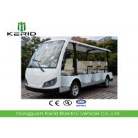 China White Color Electric Sightseeing Car For Multiple Public Zone Payload 11 Person wholesale