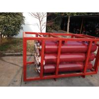 China ISO9809 Large Capcity CNG Cylinder Compressed Natural Gas Storage Tank Cascade wholesale
