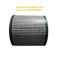 China 15 mm thick fire resistance conveyor alumina ceramic pulley lagging on sale