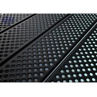China Attractive Perforated Metal Sheet Stainless Steel Perforated Plate with Oxidation wholesale