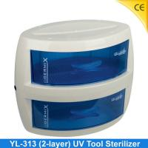 China 2 Layers UV Tool Sterilizer , Hair Salon UV Sterilizer CE YL-313 wholesale