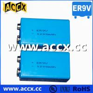 China smoke detector battery ER9V 1200mAh on sale