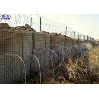 Hot - Dipped Galvanized Hesco Bastion Wall CE Certification 3 Years Warranty