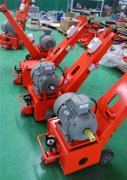 floor scarifying machine