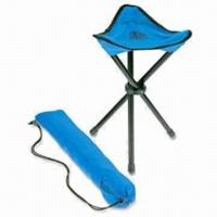 China Folding Hiking Stool with Strong Frame and Weight Capacity wholesale
