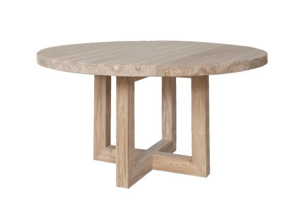 round wood dining table images. Black Bedroom Furniture Sets. Home Design Ideas