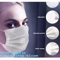 China FDA approval medical non woven surgical disposable 3 ply earloop face mask,Disposable 3ply medical earloop face mask wholesale