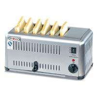 Buy cheap Commercial 6 / 4 Slice Electric Toaster Snack Bar Equipment / Toast Bread from wholesalers