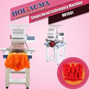 China HO1501 single head 15 needles computerized embroidery machine like swf embroidery machine wholesale
