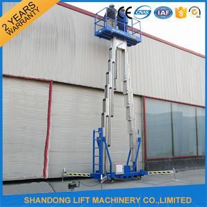 China 4 - 20 m Aluminium Aerial Work Platform Lift on sale
