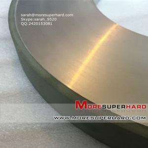 China Resin Bond Diamond Grinding Wheel For Thermal Spraying Alloy Materials  sarah@moresuperhard.com on sale