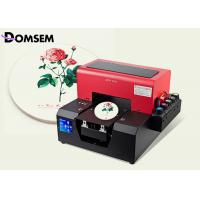 China Digital DTG Printing Machine Uv Glass Printing Machine Soft UV Curing Ink Type on sale
