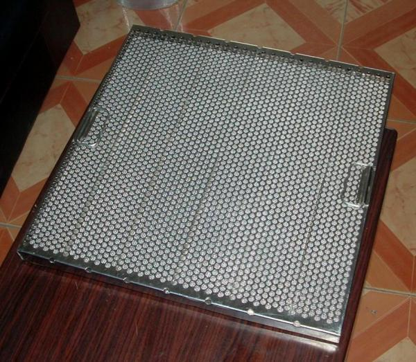 Kitchen drip tray images for Commercial kitchen grease filters