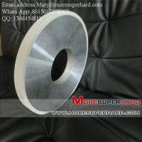 China Vitrified bond Diamond Centerless Grinding Wheel for Grinding the Cylinder of PDC wholesale