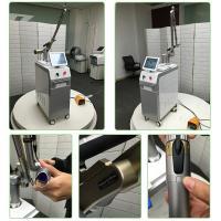 Q-switched Nd yag máquina de eliminación de tatuajes láser 100% de salida de energía