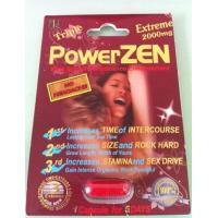 China Triple Powerzen Xtreme 2000mg Herbal Sex Pills Powerful Safe for Adults wholesale