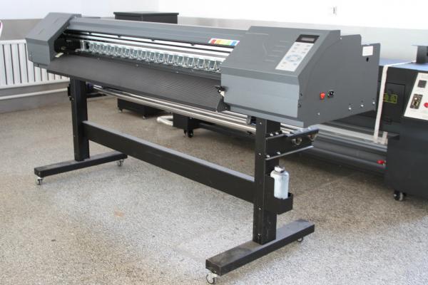 Quality High Speed 64'' Eco Solvent Inkjet Printer , 2880 Dip Solvent Based Printer for sale
