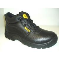 China Work Wear Steel Toe Cap Industrial Safety Shoes For Engineers / Workers on sale