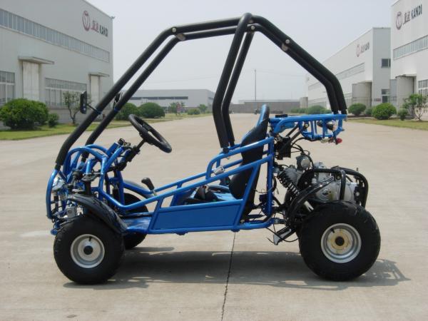 110cc mini kids two seat go kart kd 49fm5 three speed with reverse