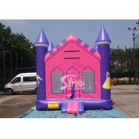 China 13x13 outdoor kids party Princess Inflatable Bounce House with 18 OZ PVC Tarpaulin wholesale