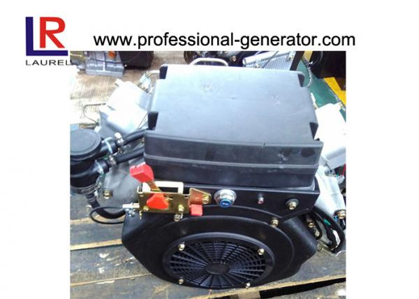 Quality Small Air cooled 22HP 16kw Twin Cylinder Diesel Engine with 4-stroke for sale