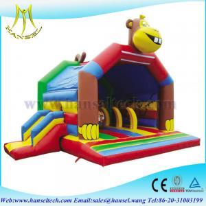 China Hansel popular inflatable slide funny used moonwalks for sale for sale on sale