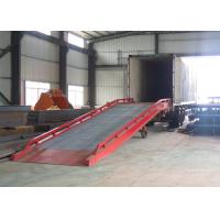 China CE certification mobile container ramp with 10 ton capacity wholesale
