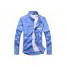 China Fine Craftsmanship Teen School Uniform , School Uniform Blue Shirts For Kids wholesale