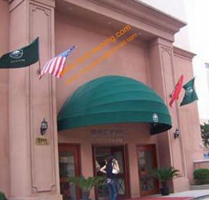 China Half Round Elegance European Style Customized Size Hotel Door Entrance Awning wholesale