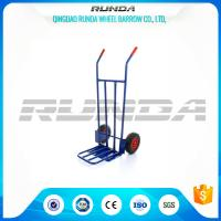 China Steel Body Heavy Duty Dollies Hand Trucks Welded Construction 200KG Load Capacity wholesale