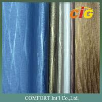 China 0.6mm - 1.2mm PVC Leather Colorful Many Different Design For Upholstery Fabric on sale