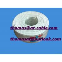 China 16% Conductivity CCS, 48% AL Braiding RG6 Coaxial Cable With ROHS and CE passed 6.5usd/100 wholesale