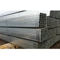 Electric Resistance Welded Galvanized Steel Square Tubing Q195 Q235 BS1387 DIN1626