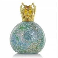 China 200ml Fashion Glass Mosaic Lavender Fragrance Lamp For Dorm Decoration MS-FL0172 wholesale
