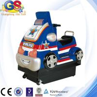 China 2014 Mini Police Car coin operated amusement kiddie rides for sale kiddy ride machine on sale