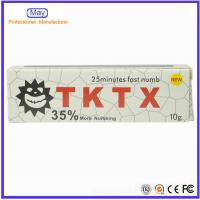 China 2016 NEW 35% TKTX Pain Stop Cream Numb Skin Fast Cream for Permanent Makeup Use & Tattoo wholesale